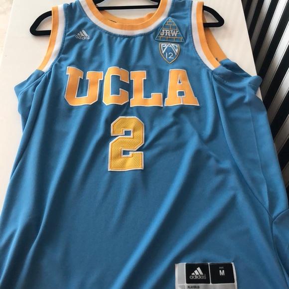 new product 45354 57757 UCLA Adidas Lonzo Ball Jersey